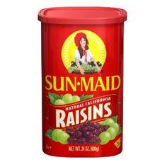 Sun Maid Natural California Raisins, 24-Ounce (Pack of 4) (Grocery) http://www.amazon.com/dp/B004UKJS6I/?tag=wwwmoynulinfo-20 B004UKJS6I