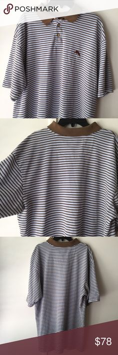 🔴DELETING NOW‼️LAST CHANCE!✨Tommy Bahama Striped Excellent Used Condition! Tommy Bahama Shirts Polos