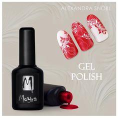 Nail art with Moyra Gel Polish #moyra #gelpolish #nailart #gellakk