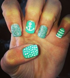 Nails @Kristy Lumsden Lumsden Lumsden Lumsden Pedersen thought of you :)