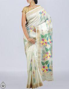 9212d6f0e1 buy Jamdhani handloom silk cotton sarees online, latest saris, Unnati Silks