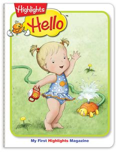Hello Magazine for Ages 0-2 | Baby Magazine. This is durable. It washes and is bound by thread and not staples. Amazing product. They also have magazines for young children and growing up children. Low cost for year subscriptions.
