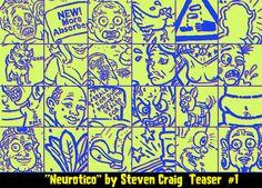 Neurotico Comic Teaser 1   In Color, via Flickr.