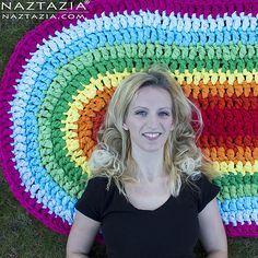 Oval Rag Rug Crochet Rug Patterns Crochet Rug Patterns Free Rag Rug Tutorial