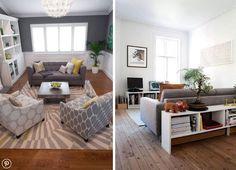 Kilka wskazówek i propozycji jak ustawić meble w małym salonie - Myhome