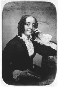 """Ernestine Rose (January 13, 1810 – August 4, 1892) was an atheist feminist, individualist feminist, and abolitionist. She was one of the major intellectual forces behind the women's rights movement in nineteenth-century America.  In the 1840s and 1850s, Rose joined the """"pantheon of great American women"""", including such influential women as Elizabeth Cady Stanton, Susan B. Anthony, Lucretia Mott, Paulina Kellogg Wright Davis and Sojourner Truth and fought for women's rights and abolition."""