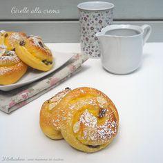 Girelle+alla+crema+con+gocce+di+cioccolato
