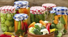 Verdure fermentate - La Cucina Italiana