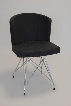 Doris S Side Chair - Base No. 8 - 4 Steel Legs