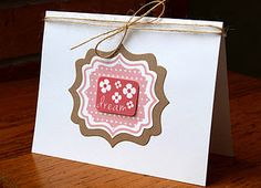 stamps and die from The {Stamps} of Life. card by Laura Williams