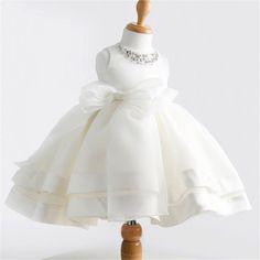 $20.99 (Buy here: https://alitems.com/g/1e8d114494ebda23ff8b16525dc3e8/?i=5&ulp=https%3A%2F%2Fwww.aliexpress.com%2Fitem%2FGirls-dress-high-grade-Beaded-white-princess-dress-s-collar-flower-one-generation%2F32690021379.html ) High-grade lace white flower girls dresses bow princess evening tutu dress for 2-10 year birthday baby tulle girl baptism dress for just $20.99