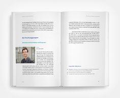 Layout / Design IWH-Tätigkeitsbericht.