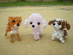 Beaded Doggies | Flickr - Photo Sharing!