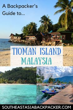 Guide to Tioman Island, Malaysia! (Pulau Tioman) #PeninsularMalaysia #PlacesinMalaysia #bestislands #tropicalislands #MalaysianIslands #TiomenIsland #TiomanIsland #Malaysia #MalaysiaInspiration #MalaysiaTravel #SoutheastAsia #BackpackingInspiration #Beaches #Travel