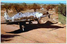 Macchi MC-202 Folgore las últimas versiones estuvieron equipadas con un motor derivado del Bf-109