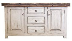 How much space do you need for a bathroom vanity? Small Bathroom Vanities, White Vanity Bathroom, Distressed Bathroom Vanity, Bathroom Ideas, White Medicine Cabinet, Farmhouse Vanity, Buffet Cabinet, Rustic Mirrors, Custom Vanity