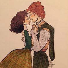 thingsiphotoshopped: A little sassenach and Fraser