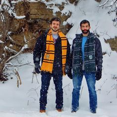 Pretty sure there is a joke here about a Hufflepuff and a Slytherin walking into Narnia to tell Elsa to chill out. #snowpocalypse by justinick_pgh