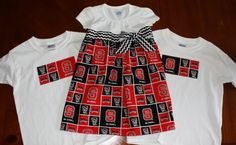 NC State outfits for the whole family! Go Wolfpack!