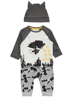 560d092bbf04 Batman Top, Joggers and Hat Outfit