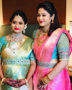 How to Get A Designer Saree Look with a Simple Saree belted. - How to Get A Designer Saree Look with a Simple Saree belted blouse, blouse des - Wedding Saree Blouse Designs, Pattu Saree Blouse Designs, Half Saree Designs, Fancy Blouse Designs, Latest Blouse Designs, Latest Blouse Patterns, Wedding Blouses, Wedding Sarees, Saree With Belt