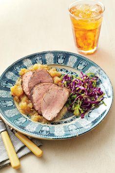 Budget-Friendly Quick-Fix Meals: Honey-Glazed Pork Tenderloin with Homemade Applesauce