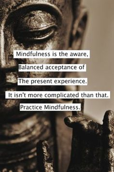 Mindfulness training in healthcare---Mindfulness-Based Stress Reduction---so many benefits to body and mind.
