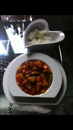 Sweet & sour chicken Chinese take away style