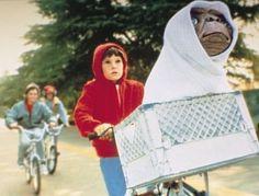 La Bici y E.T