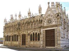 Pisa, Lungarno Gambacorti, Chiesa Santa Maria della Spina