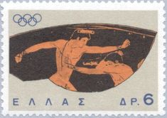 Boxers  (Olympic Games Tokyo 1964 Popular Hobbies, Greek History, Ancient Greece, Stamp Collecting, Olympic Games, Postage Stamps, Letterpress, Printmaking, Boxers