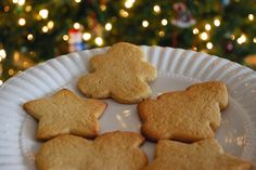 The Spinach Spot: No-Sugar Christmas Cookies