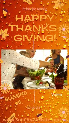 VIDEO 🎵 THANKSGIVING 🦃 collection  of GRATITUDE and THANKSGIVING REFLECTION 5
