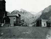 Telluride Main St. circa ? Order your prints of this at www.telluridemuseum.org