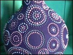 ▶ 17/10/2010 - Pontilhismo com textura - YouTube