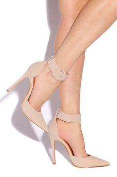 Lola shoetique- Modern point #nudeheels #heels #lolashoetique