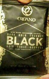 El nuevo sobre del #BlackCoffee de Órgano Cafe Saludable 200 Antioxidantes & 150 FitoNutrientes Atte #EnriqueHaas