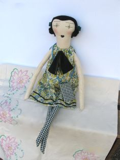 Muñecas de trapo hechas a mano Eco amigable por palomitaragdolls