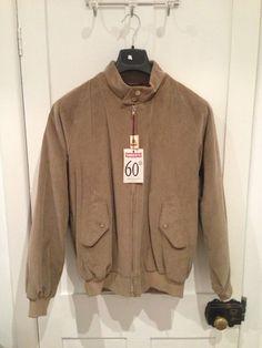 Rare Corduroy Baracuta G9 Harrington Jacket Brisbane Moss New with Tags Size 40 | eBay