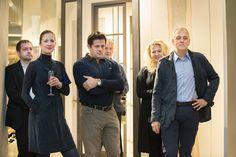 Architekci wnętrz - kolacja w salonie Wirchomski Showroom Wirchomski - spotkanie architecture meeting motivation inspiration furniture design interior