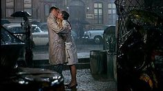 Somewhere In Time Film Fans - best film kisses:  Audrey Hepburn and George Peppard, Breakfast at Tiffany's