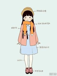what a designer dress in winter - 设计师妹纸秋冬搭配指南 作者:@李廢廢