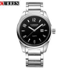 CURREN 8048 Men Fashion Sports Watches Quartz Analog Wristwatches Men's Full  Military Watch  Relojes #Affiliate
