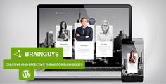 Brainguys - Creative Business Theme for WordPress :  Check out this great #themeforest item 'Brainguys - Creative Business Theme for WordPress' http://themeforest.net/item/brainguys-creative-business-theme-for-wordpress/6534264?ref=25EGY