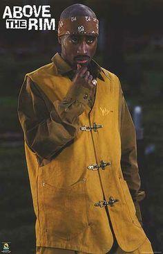 B LICENSED NEW Above the Rim Movie POSTER 27 x 40 Duane Martin Tupac Shakur