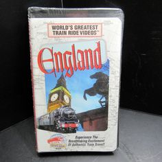 World's Greatest Train Ride Videos Railroad England VHS New Sealed Landmarks