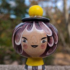 Teresita - Wooden Kokeshi  Malota