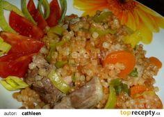 Kuře s mrkví, pórkem a s tarhoňou recept - TopRecepty.cz