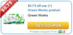 $0.75 off one (1) Green Works product