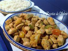 Peito de Perú com Pickles